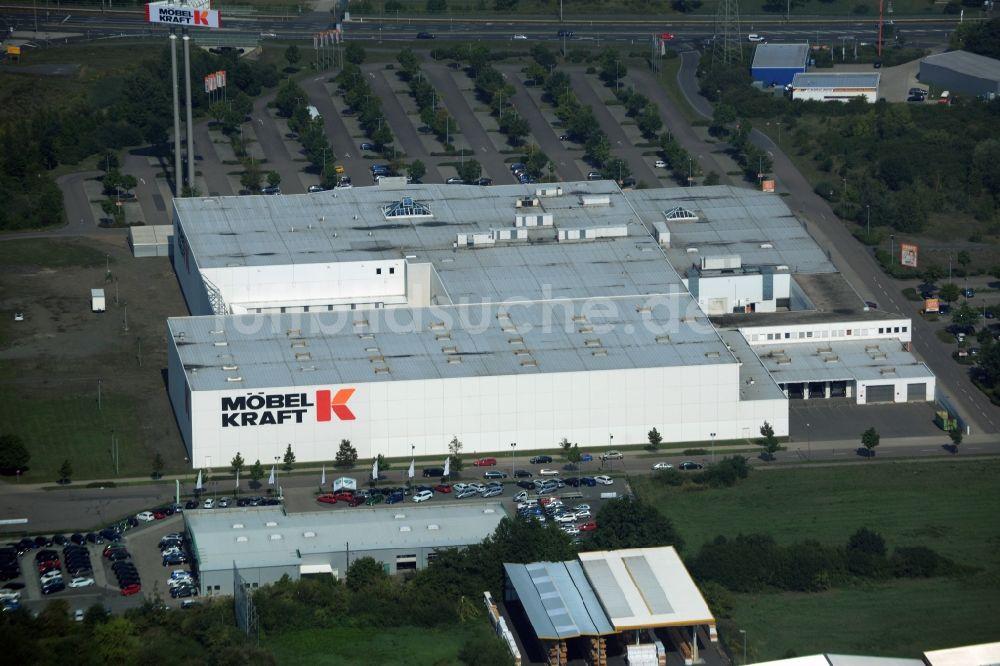 Luftbild Taucha Gebäude Des Einrichtungshaus Möbelmarkt Der