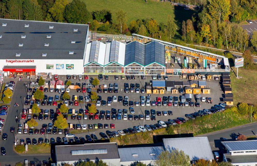 Luftaufnahme Freudenberg Gebäude Des Einrichtungshaus Möbelmarkt