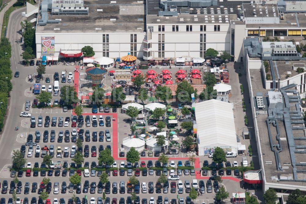 Luftbild Friedberg Gebäude Des Einrichtungshaus Möbelmarkt