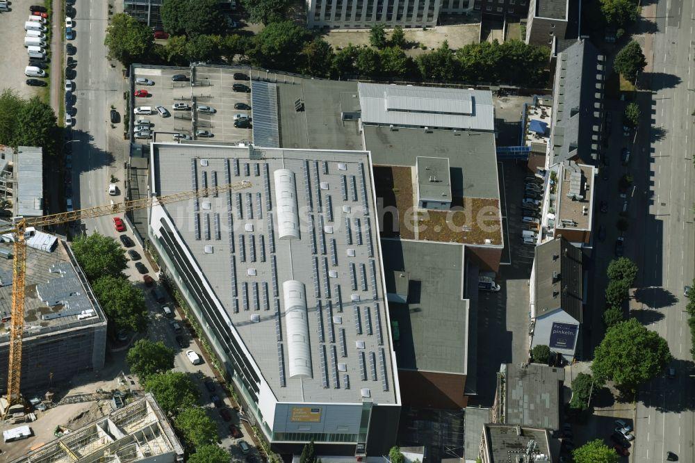 Luftaufnahme Hamburg Gebaude Des Grosshandelszentrum Peter Jensen