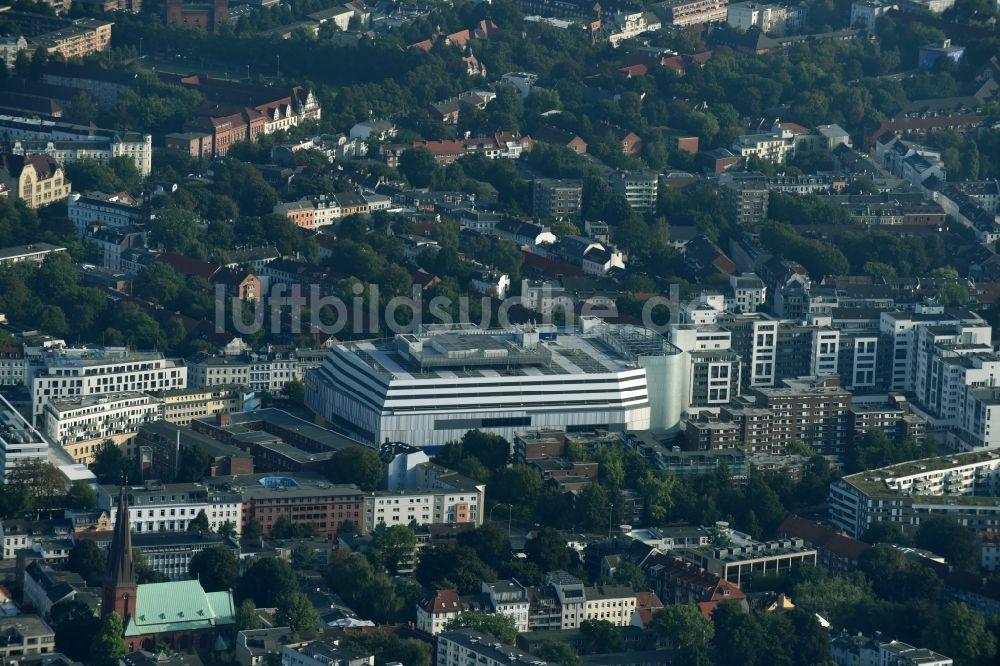 Luftaufnahme Hamburg Gebäude Des Ikea Möbel Einrichtungshauses