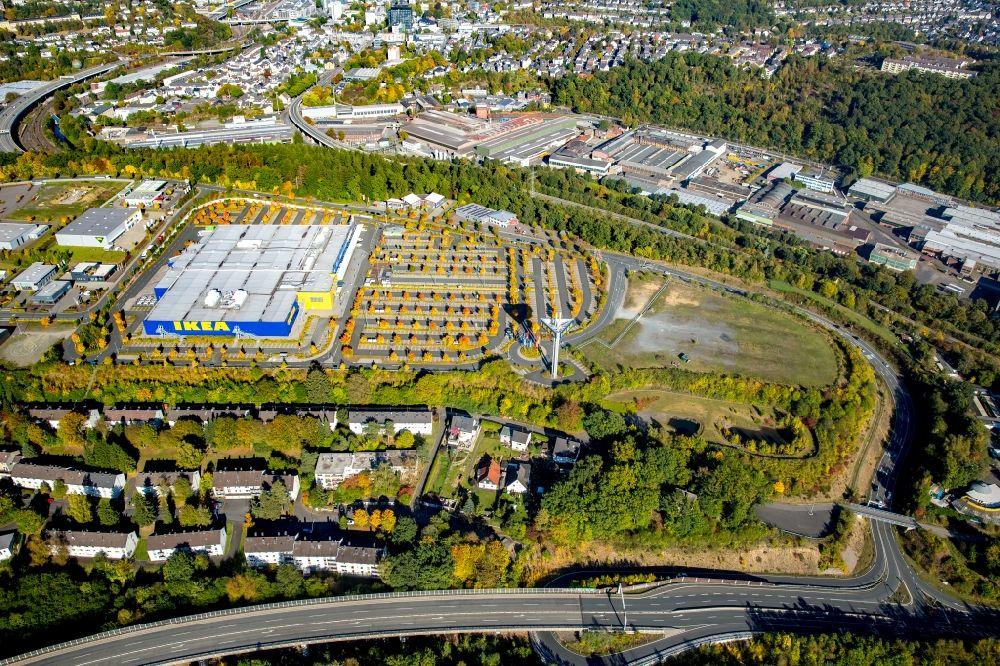 Siegen Aus Der Vogelperspektive Gebaude Des Ikea Mobelhaus In
