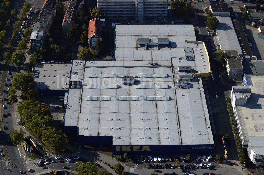 Berlin Aus Der Vogelperspektive Gebäude Des Möbelmarkt Der Ikea