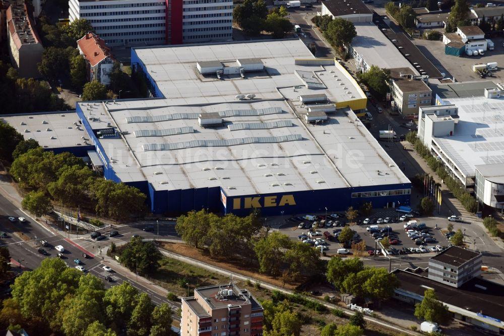 Luftbild Berlin Gebäude Des Möbelmarkt Der Ikea Einrichtungshaus