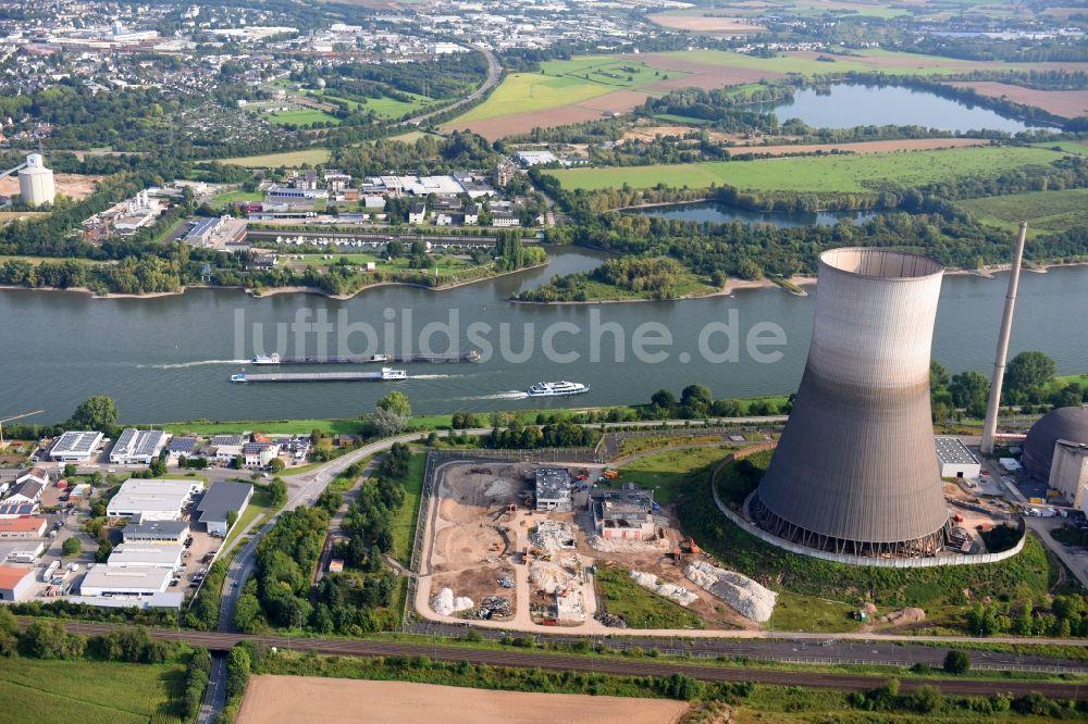 Luftbild Mulheim Karlich Gebaude Reste Der Ruine Der
