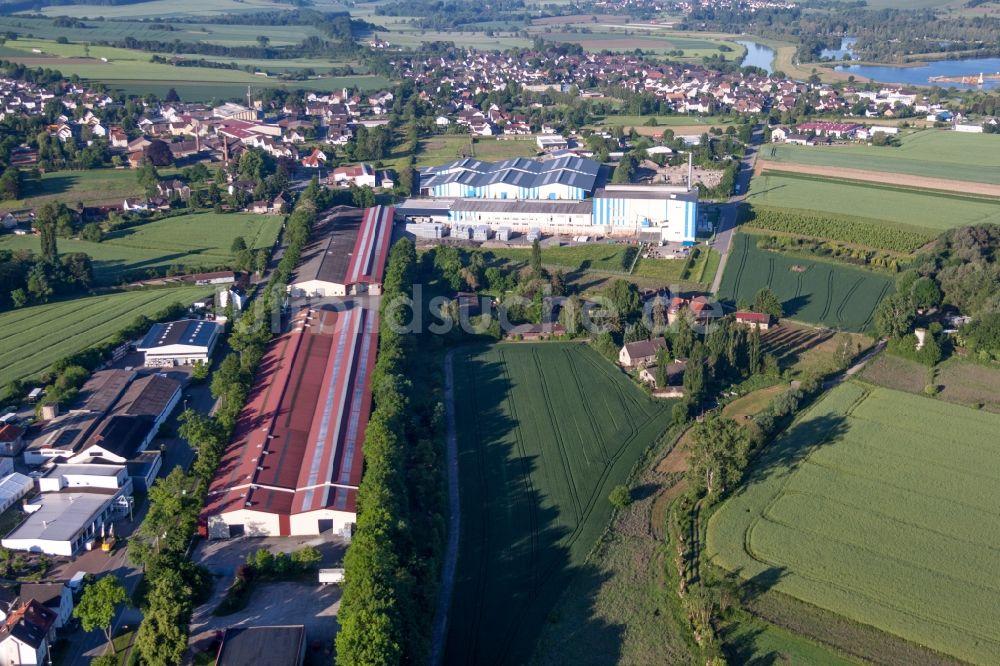 Luftbild Boffzen Gebaudekomplex Und Logistikzentrum Mit