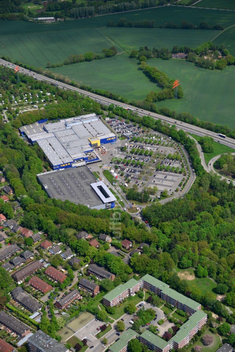 Blickfang Möbelhaus Hamburg Hamburg Sammlung Von Luftbild Schnelsen - Gelände Des Ikea- Mö