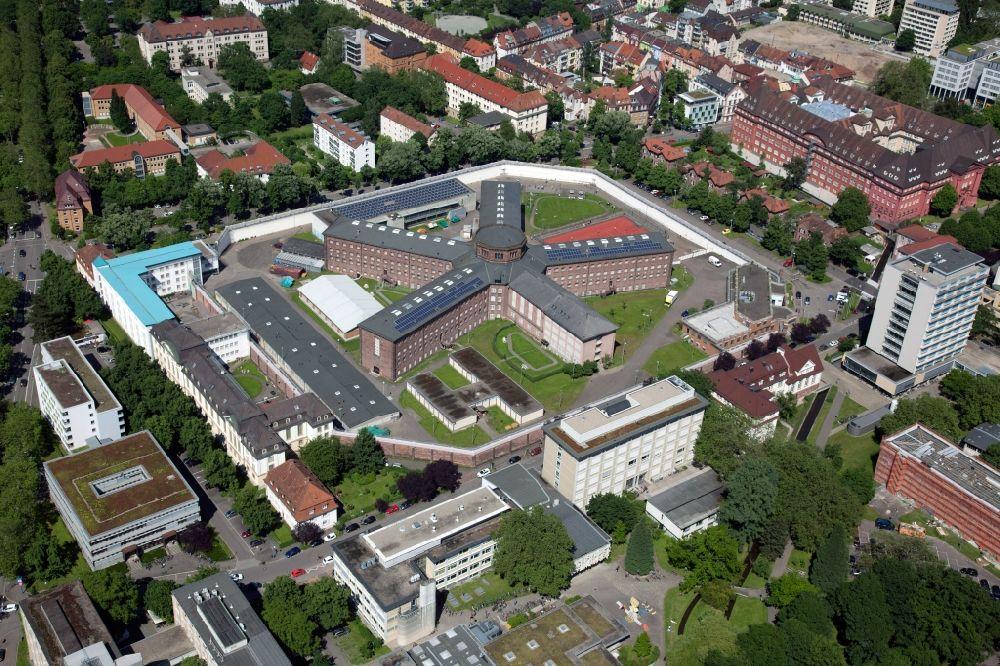 Freiburg Im Breisgau Von Oben Gelände Der Justizvollzugsanstalt
