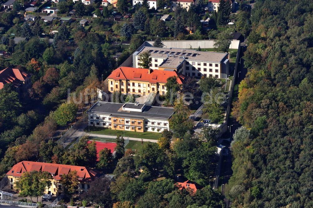 Leipzig Dösen Aus Der Vogelperspektive Gelände Der Klinik Für