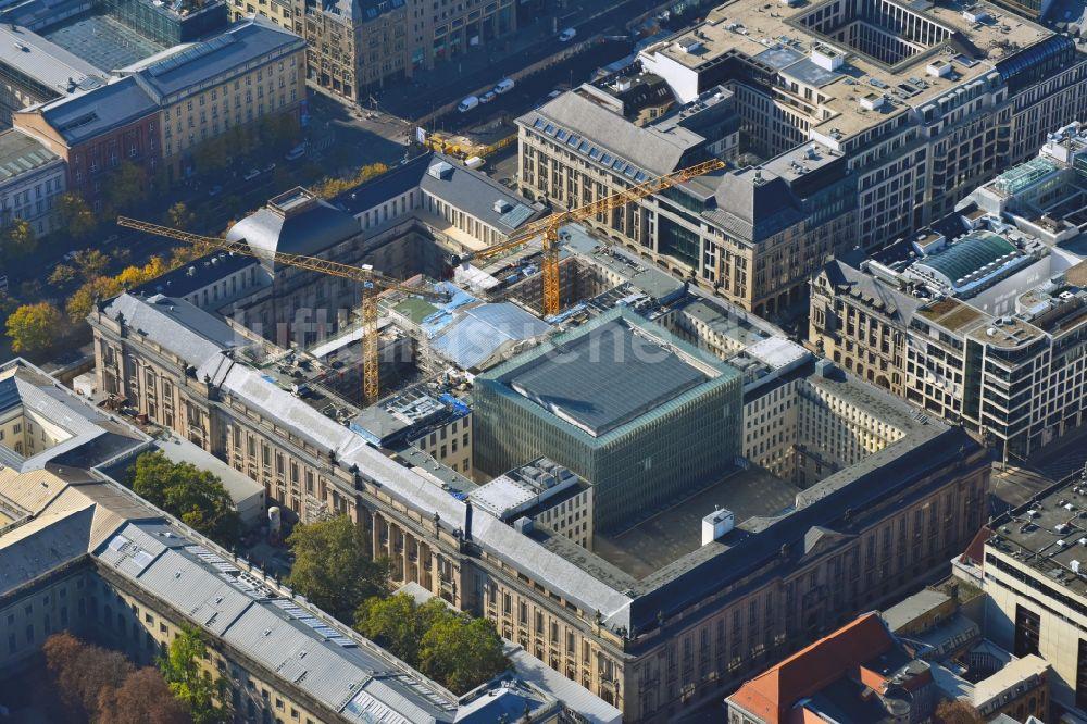 Luftaufnahme Berlin Generalsanierung Und Modernisierung Der