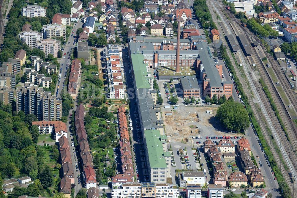 newest 0c406 bece4 Luftaufnahme Kornwestheim - Gewerbe- und Wohn- Gebiet ...