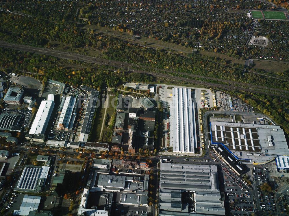 Ikea Schöneberg aus der vogelperspektive gewerbegebiet entlang der bessemerstraße
