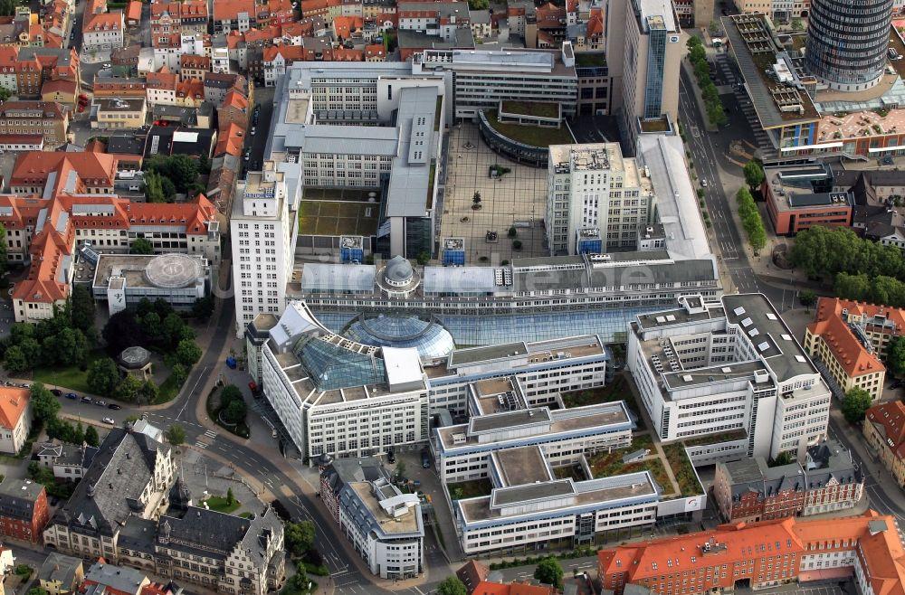 Luftaufnahme Jena - Goethe-Galerie und Campus der ...