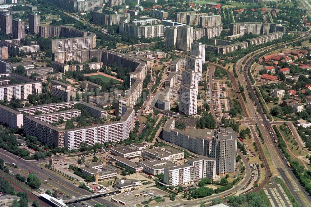 Berlin Aus Der Vogelperspektive Handelszentrum Und