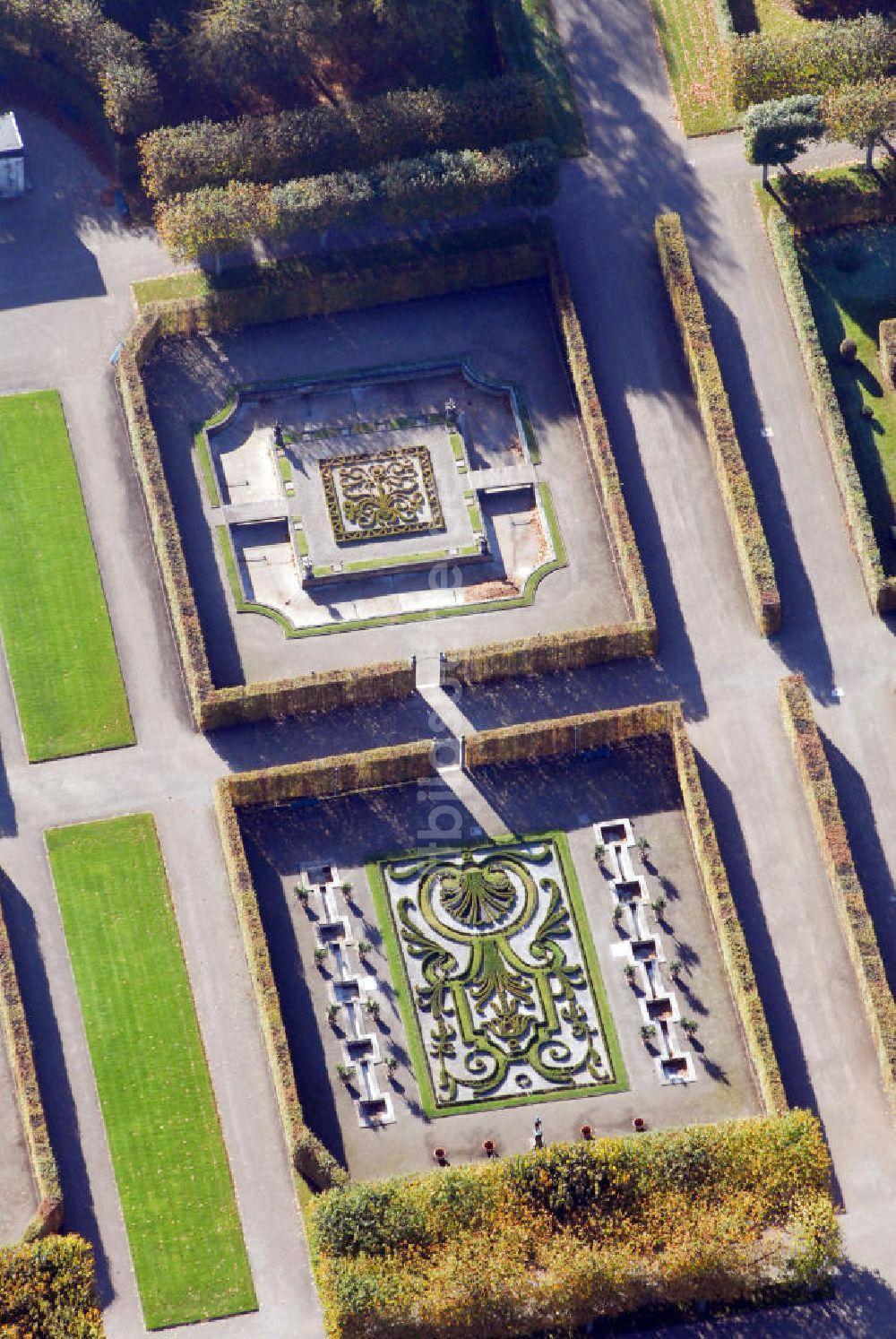 Luftbild Hannover Herrenhäuser Gärten In Hannover