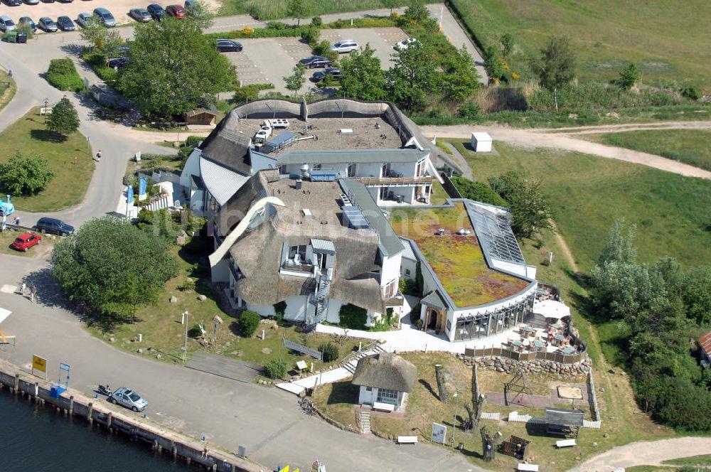Luftaufnahme Baabe Hotel Solthus Am See Auf Der Insel Rugen Im