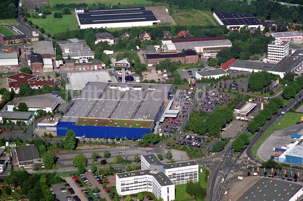 Dortmund Nrw Von Oben Ikea Dortmund