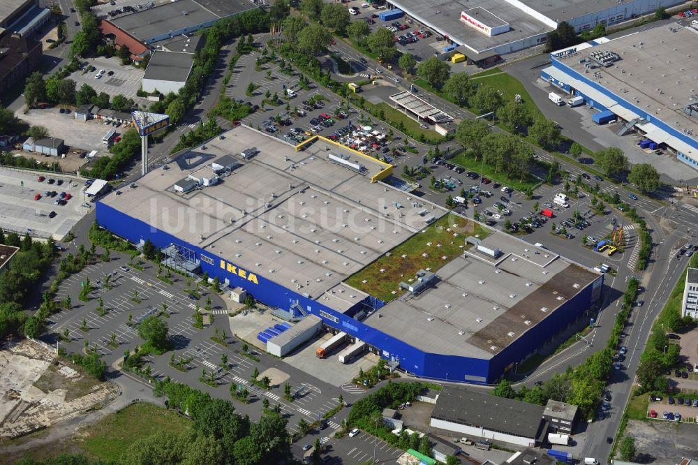 Luftbild Dortmund - IKEA Einrichtungshaus / Möbelhaus in Dortmund im ...