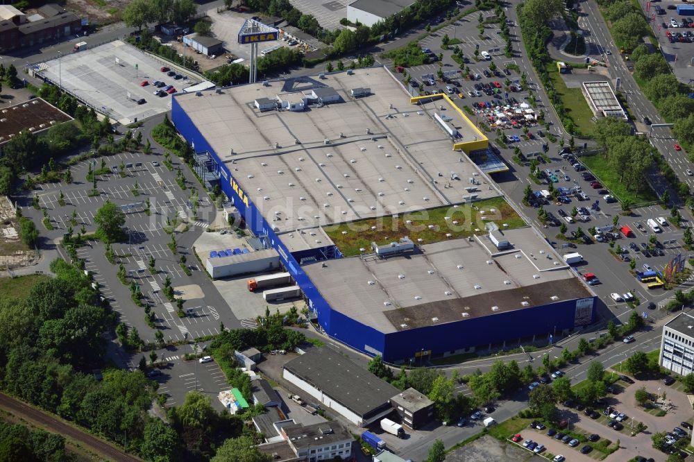 Dortmund von oben - IKEA Einrichtungshaus / Möbelhaus in Dortmund im ...
