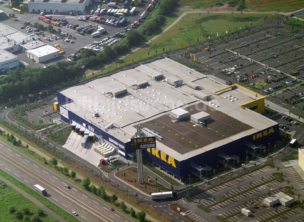 Koblenz Aus Der Vogelperspektive Ikea Möbel Kompetenz Zentrum In