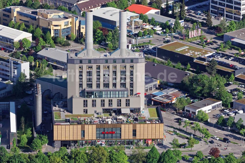 Möbelhaus In München münchen kare möbelhaus im kraftwerk in der drygalski allee in