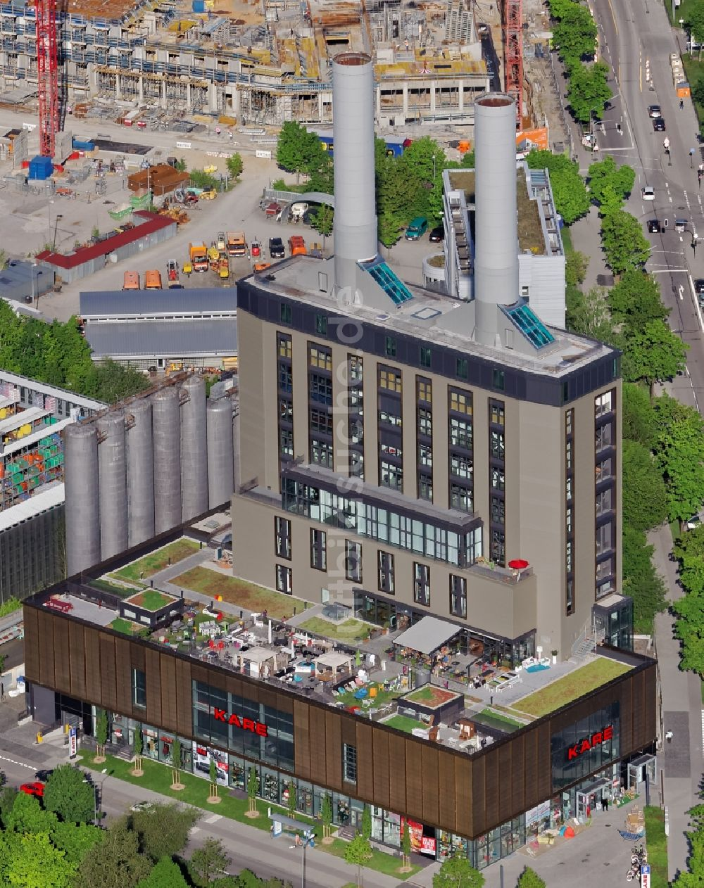 Möbelhaus In München oben kare möbelhaus im kraftwerk in der drygalski allee in