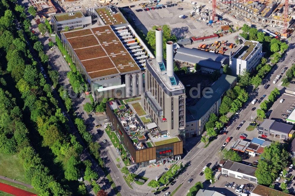Die Küche Im Kraftwerk | Munchen Kare Mobelhaus Im Kraftwerk In Der Drygalski Allee In