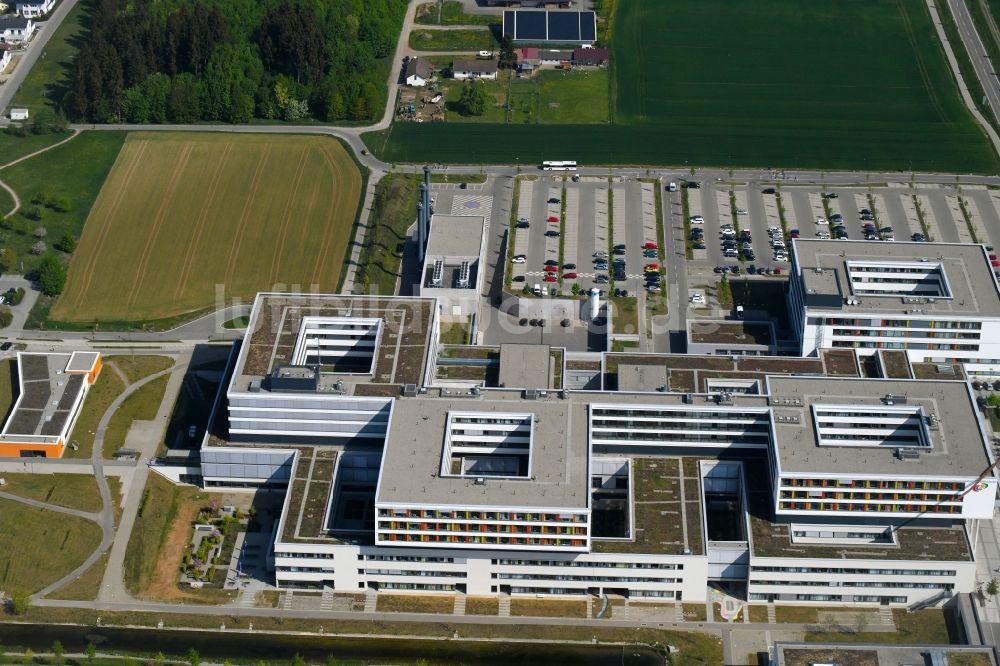 Villingen-Schwenningen von oben - Klinikgelände des Krankenhauses ...