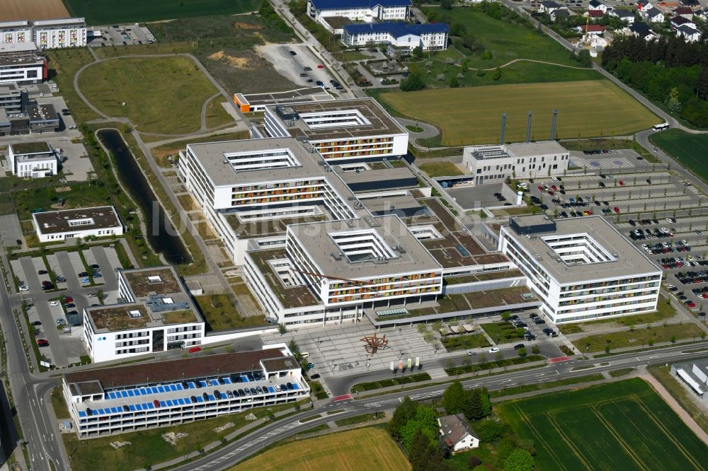 Luftaufnahme Villingen-Schwenningen - Klinikgelände des ...