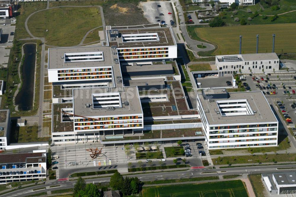 Villingen-Schwenningen aus der Vogelperspektive: Klinikgelände des ...