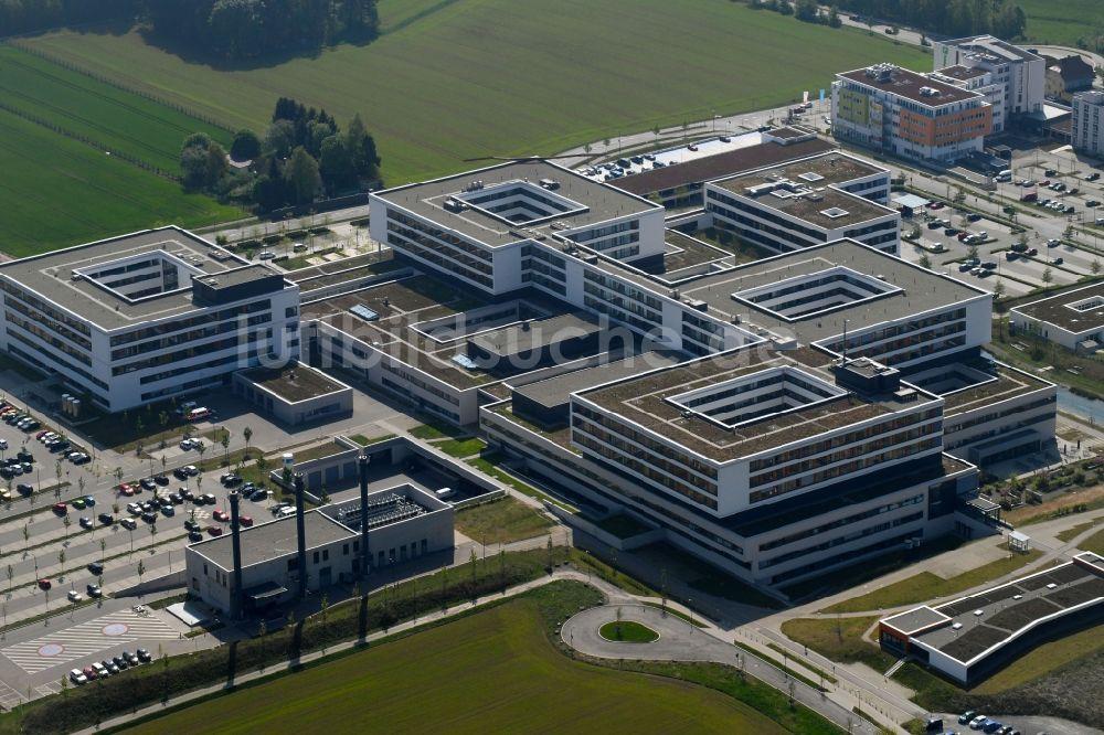 Luftbild Villingen-Schwenningen - Klinikgelände des Krankenhauses ...
