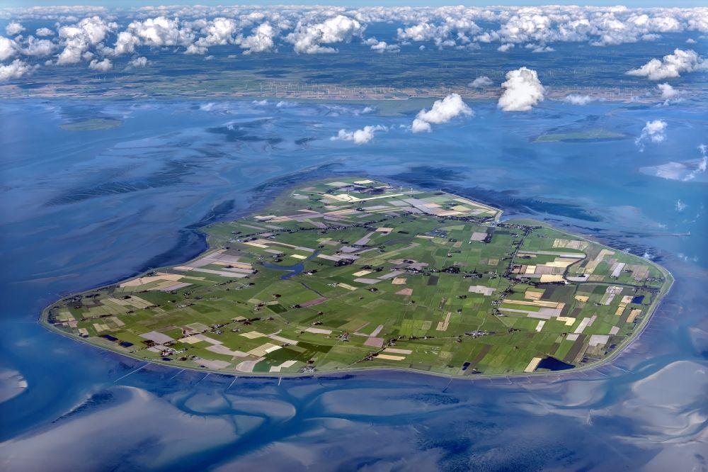 Insel In Der Nordsee