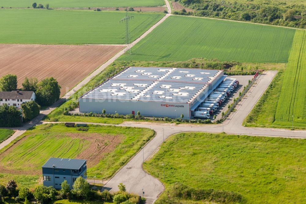 Landau In Der Pfalz Aus Der Vogelperspektive Lagerhallen Und