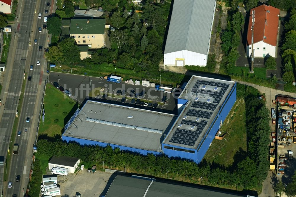 Luftaufnahme Berlin Lagerhauskomplex Gebäude Im Gewerbegebiet - Fliesen paradies berlin