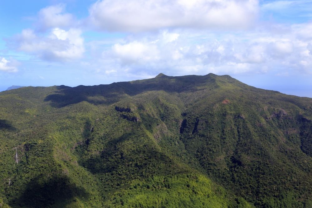 Luftbild Black River Gorges National Park - Landschaft im Black River Gorges National Park auf der Insel Mauritius