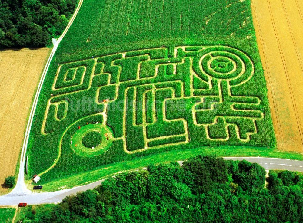 Maislabyrinth Bayern