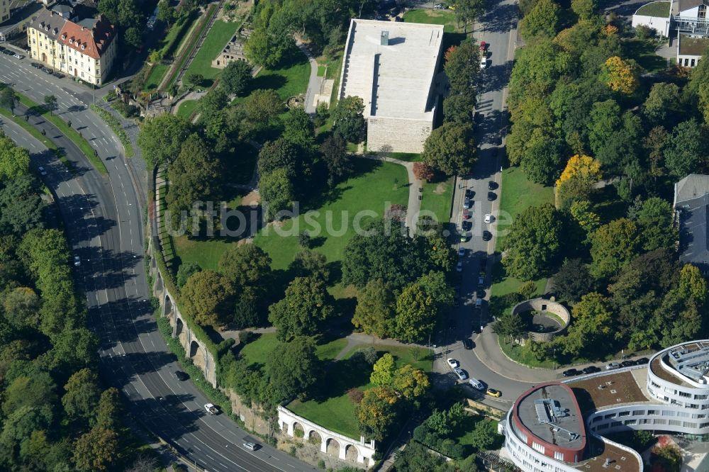 Luftaufnahme Kassel - Museums- Gebäude- Ensemble GRIMMWELT