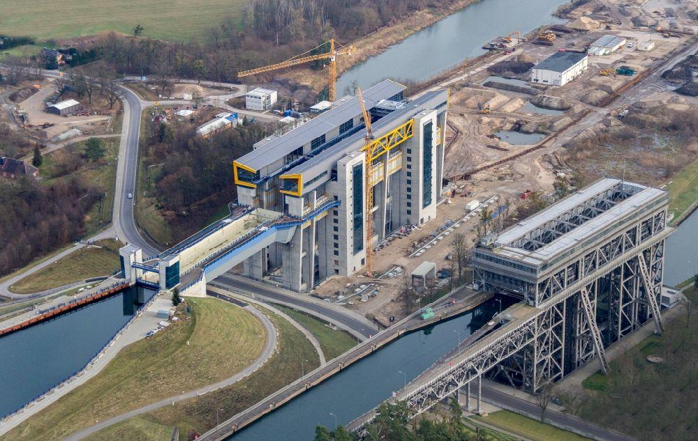 Schiffshebewerk Niederfinow Neubau Eröffnung