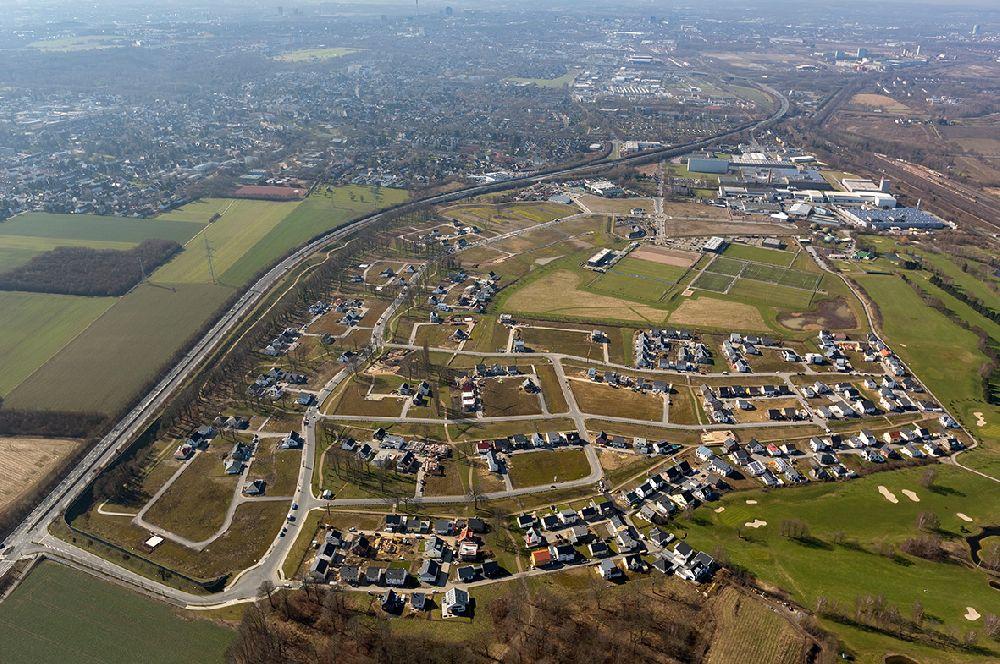 Fotograf Dortmund Brackel dortmund ot brackel oben neubausiedlung einfamilienhaus