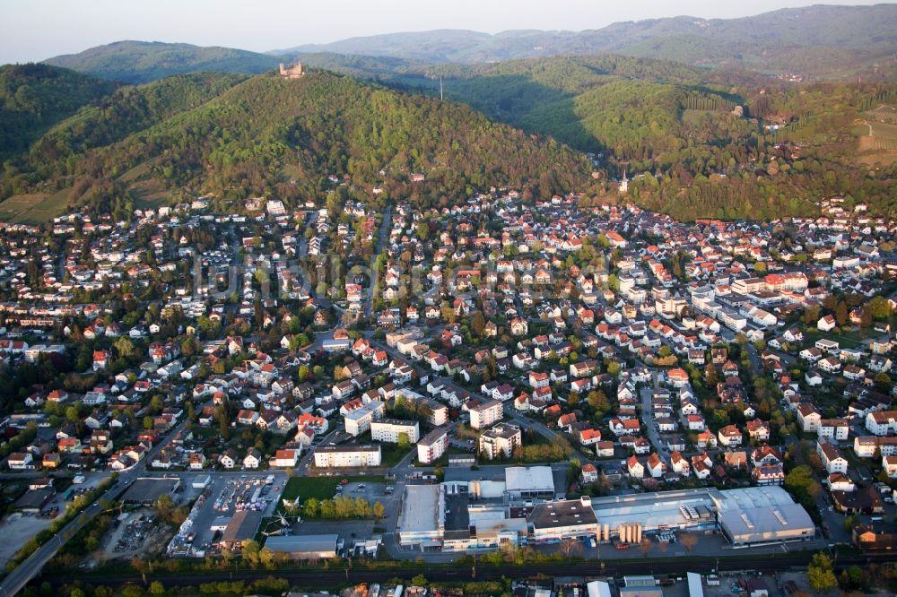 Bensheim Aus Der Vogelperspektive Ortsansicht Im Ortsteil