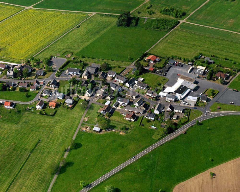 Luftbild Rothenbach Ortsteilansicht Von Obersayn In Der