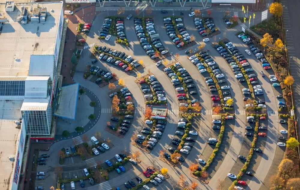Witten Von Oben Parkplatz Und Abstellflache Am Ostermann
