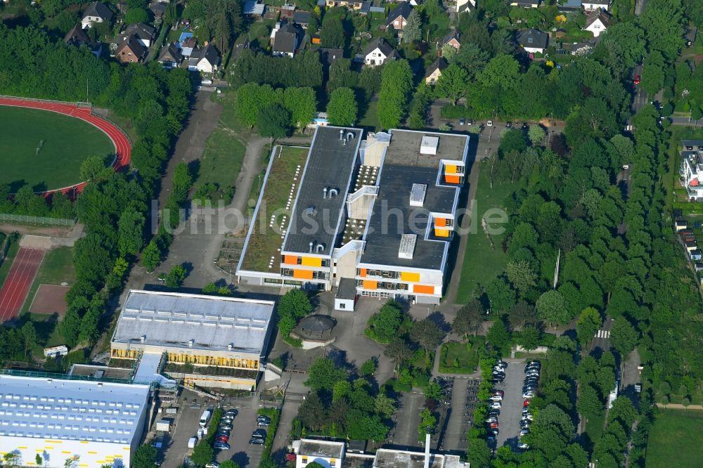 Luftaufnahme Glinde - Schulgebäude des Gymnasium Sönke-Nissen ...