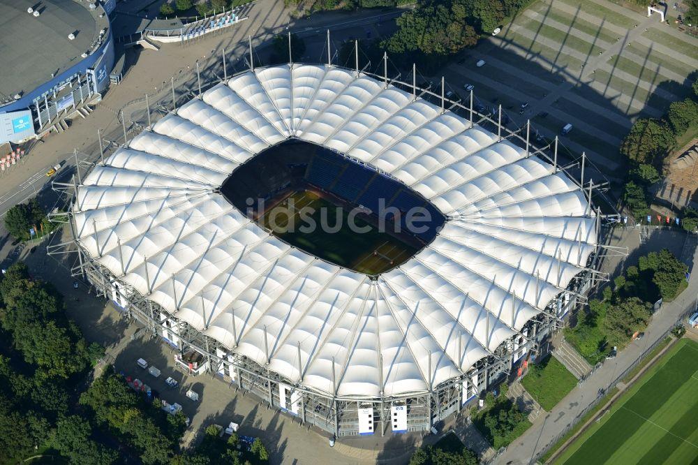 hamburg von oben stadion imtech arena des hamburger hsv. Black Bedroom Furniture Sets. Home Design Ideas