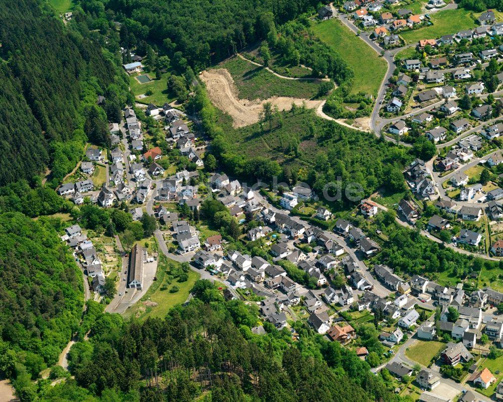 Arzbach aus der Vogelperspektive: Stadtansicht von Arzbach