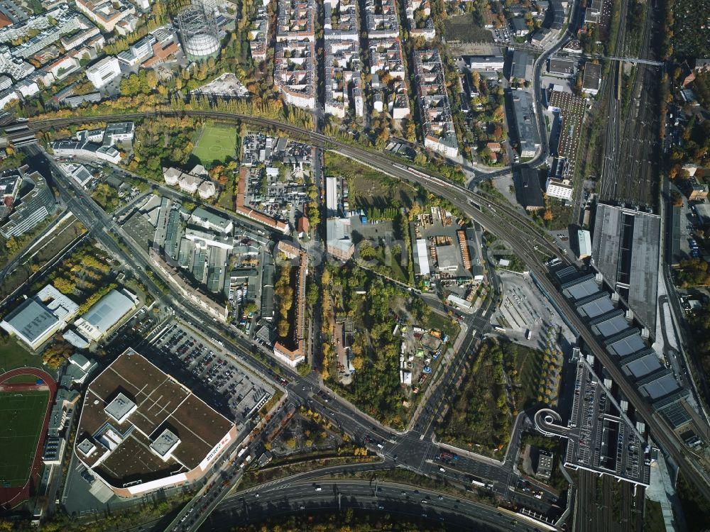 Mobel Kraft Schoneberg ~ Berlin aus der vogelperspektive: stadtteil schöneberg mit einer