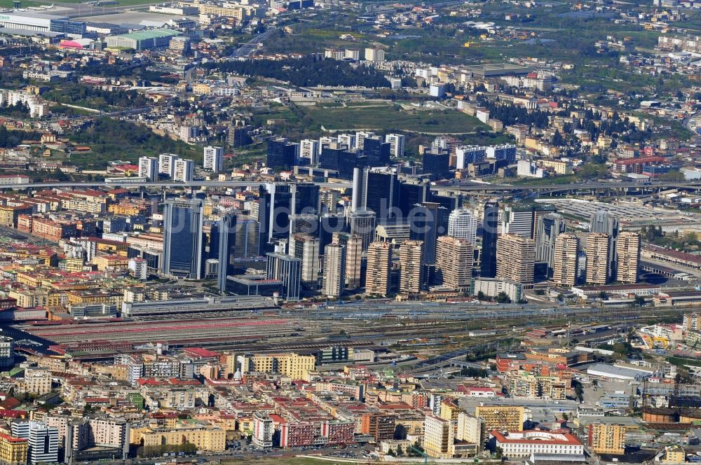 Luftbild Neapel Stadtteilansicht Von Neapel In Italien