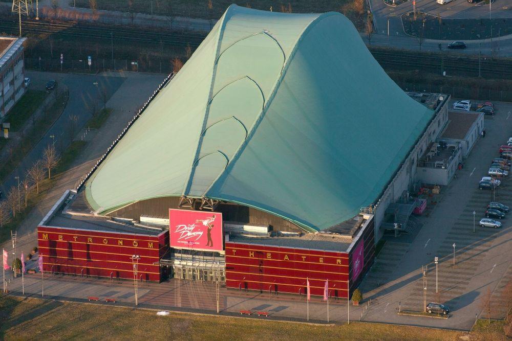 oberhausen von oben stage metronom theater am centro in oberhausen im bundesland nordrhein. Black Bedroom Furniture Sets. Home Design Ideas