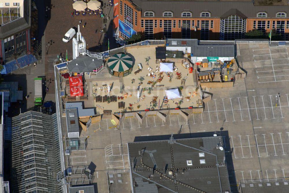Luftbild Bremen Strandbar Bremens 7ter Himmel auf dem dem