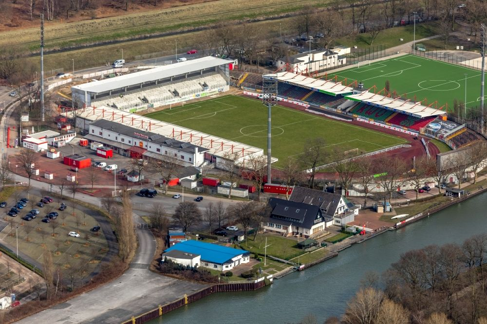 Rwo Stadion Umbau